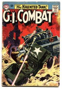 G.I. COMBAT #103 1963- THE HAUNTED TANK-KUBERT-HEATH-DC g