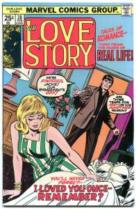 Our Love Story #38 1976- Marvel Bronze Age Romance- Last issue FN