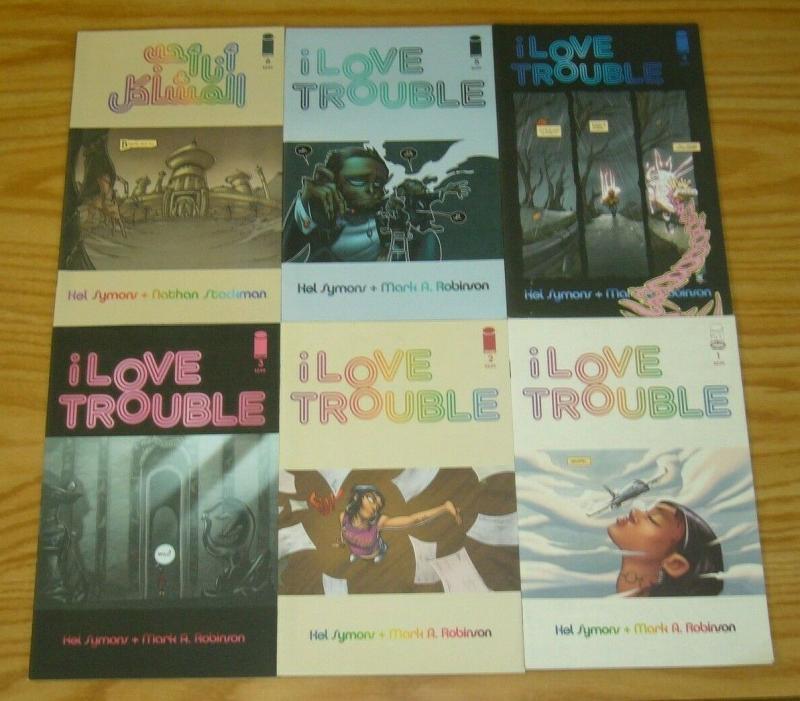 I Love Trouble #1-6 VF/NM complete series - image comics - kel symons - robinson