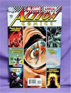Geoff Johns Superman ACTION COMICS Annual #10 Art Adams Joe Kubert (DC, 2007)!