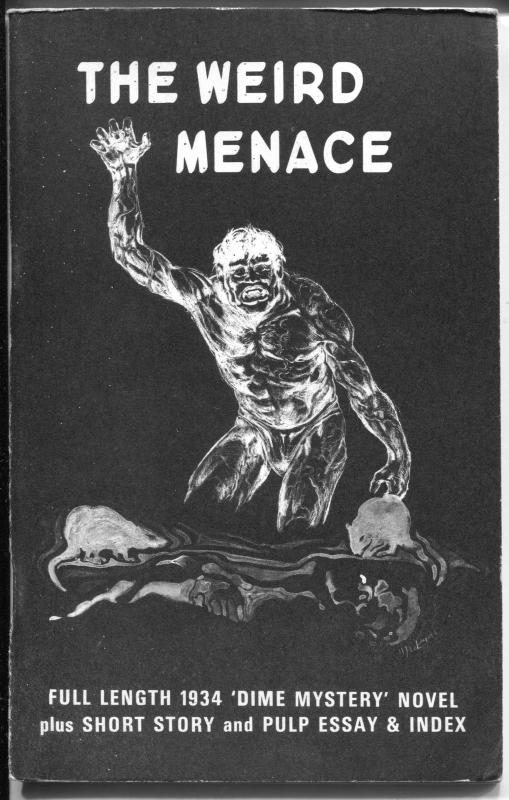 Weird Menace 6/1972-Opar Press-1st issue-Popular Publications-Dime Mystery-FN