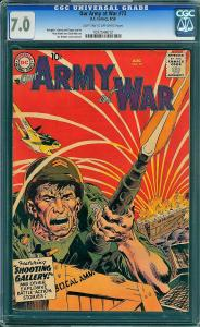 Our Army at War #73 (DC, 1958) CGC 7.0