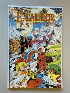 Excalibur The Sword is Drawn #1 6.0 FN (1988)