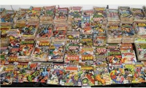 Spider BOX! Estate Sale 6 COMIC Lot  Bronze SpiderMan and Batman Guaranteed F-NM
