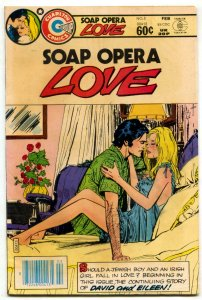 Soap Opera Love #1 1983- Charlton Romance-low print run FN+