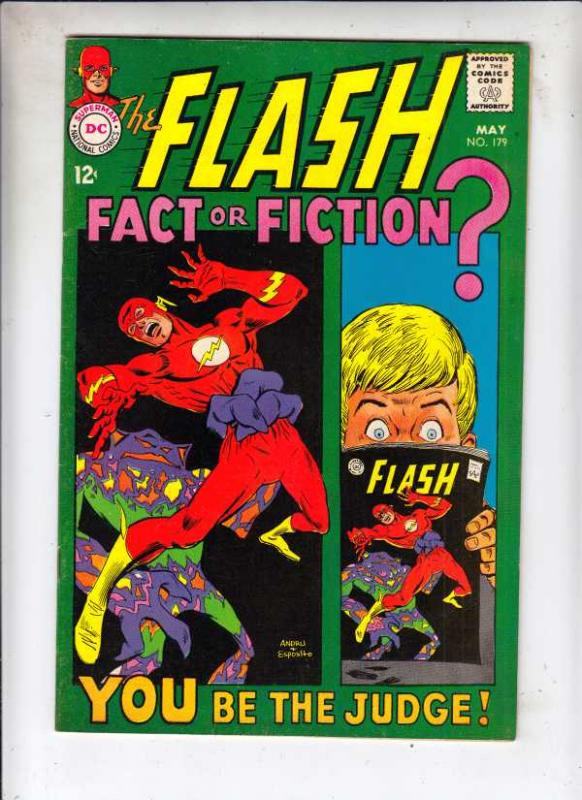 Flash, The #179 (May-68) VF+ High-Grade Flash