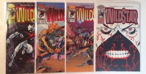 Wild Star 1-4 Near Mint Lot Set Run Gordon Ordway