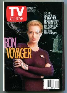 STAR TREK TV guide, Jeri Ryan, Borg, Voyager, May 19-25 2001, more in store
