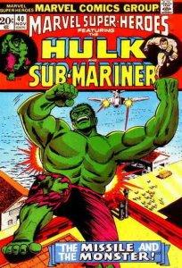 Marvel Super-Heroes (Vol. 1) #40 FN; Marvel | save on shipping - details inside