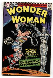 WONDER WOMAN #161 FN/VF 1966 -CLEOPATRA'S MUMMY COVER