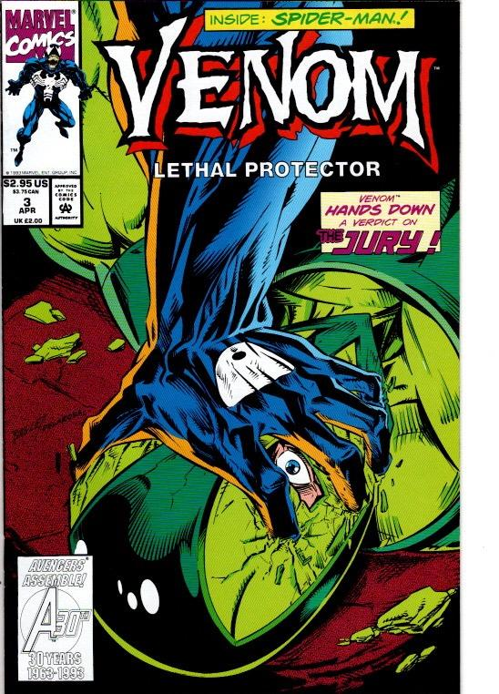 VENOM LETHAL PROTECTOR # 3 AND #4 NMNT $15.00
