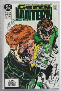 GREEN LANTERN #3 - DC COMICS - BAGGED,& BOARDED - 1990