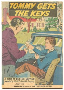 Tommy Gets The Keys 1959-BF Goodrich-safe driving promo comic-FN
