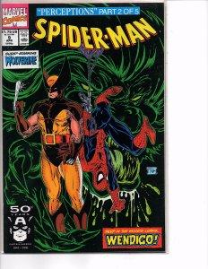 Marvel Comics Spider-Man #9 Todd McFarlane Story & Art Wendigo Wolverine
