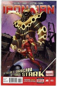 Iron Man #13 (2013 v5) Greg Land Godkiller Armor NM