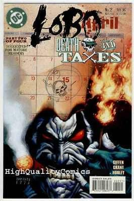 LOBO DEATH & TAXES #2, NM+, Alex Horley, Alan Grant, 1996, more in store
