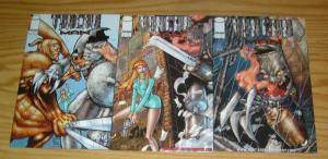 Tincan Man #1-3 VF/NM complete series - image comics set lot 2