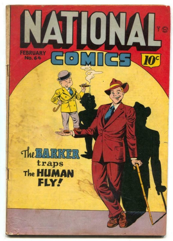 National Comics #64 1948- Barker- Quicksilver G-