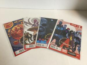 Secret Avengers 1-4 Lot Set Run Nm Near Mint Marvel Comics A10