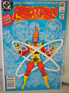 The Fury of Firestorm the Nuclear Man 1 VF/NM condition. 2nd series 1982