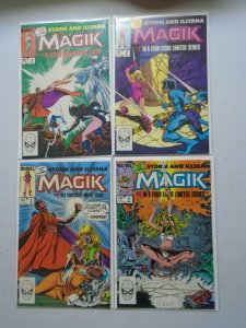 Magik set #1-4 Direct editions 8.0 VF (1983)