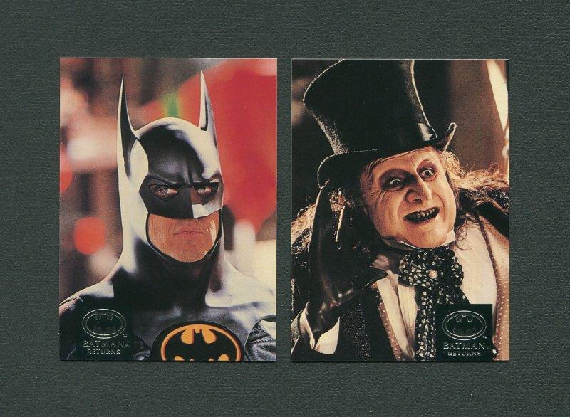 1992 Batman Returns Set   MINT