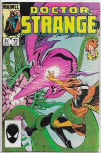 Doctor Strange (vol. 2, 1974) #72 (dir.) FN Stern/Paul Smith, Badger cover