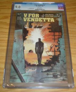 V For Vendetta #3 CGC 9.0 alan moore - david lloyd - dc comics 1988