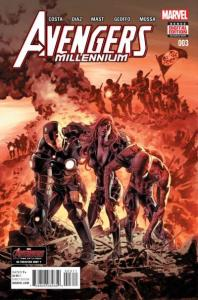 Avengers: Millennium #3, NM + (Stock photo)