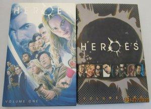 Heroes set:#1+2 avg 8.0 VF (2007)