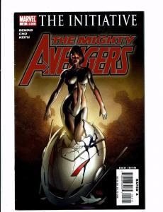 Lot Of 3 Mighty Avengers Marvel Comic Books # 2 3 4 Iron Man Hulk Thor Wasp BH5