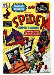 Spidey Super Stories #1-First issue comic book VF 1974