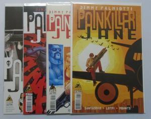 Painkiller Jane Set:#1-4 8.0/VF (2013)