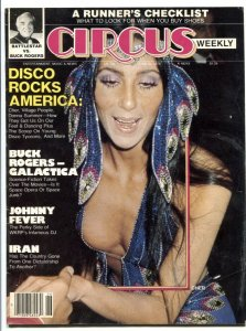 Circus Weekly June 26 1979- DISCO- Buck Rogers- Galactica Cher