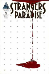 Strangers in Paradise #2 GOLD VF/NM; Antarctic | save on shipping - details insi
