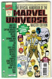 Official Handbook of the Marvel Universe Master Edition #32 (1993) New/Sealed