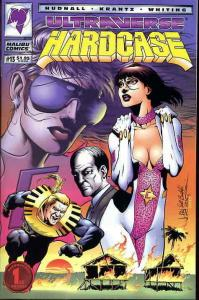 Hardcase #13 VF/NM; Malibu | save on shipping - details inside