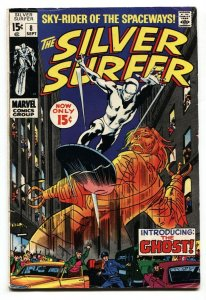 Silver Surfer #8 1969- Marvel Comics- Ghost appearance VG