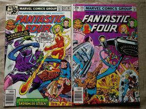 FANTASTIC FOUR #204,205 MARVEL 1978 1ST NOVA CORPS, 1ST XANDAR, 1ST ADORA Keys