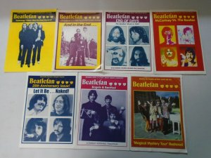 Beatlefan Magazine lot of 13 later issues