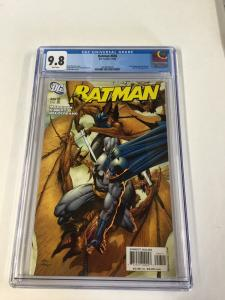 Batman 656 Cgc 9.8 White Pages 1st Damian Wayne