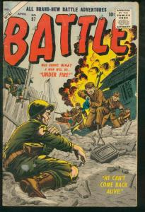 BATTLE #57-ATLAS-CIVIL WAR-WAR AGAINST COMMUNISM-1958 G+