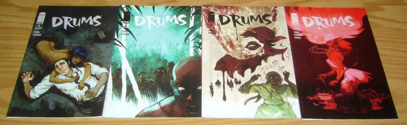 Drums #1-4 VF/NM complete series - afrocentric - voodoo image comics 2 3 set