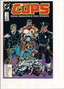 COPS #5, VF/NM, Law, Bad Guys, DC, 1988