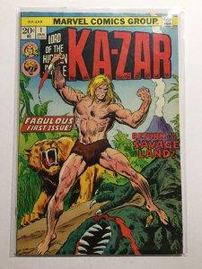 Ka-Zar 1 Very Good/ Fine Vg/Fn 5.0 Marvel