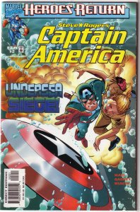Captain America (vol. 3, 1998) # 2 A VF/NM (Heroes Return) Waid/Garney