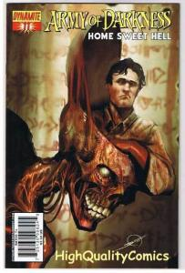 ARMY of DARKNESS : Home Sweet Hell #11, NM, Sejic, 2007, more AOD in store