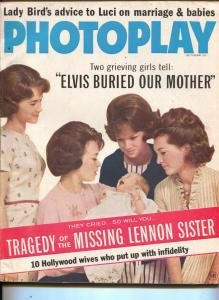 Photoplay-Lennon Sisters-Monty Clift-Susan Hayward-Oct-1966