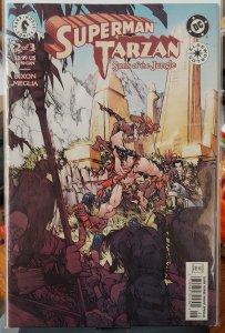 Superman/Tarzan: Sons of the Jungle #2 (2001)