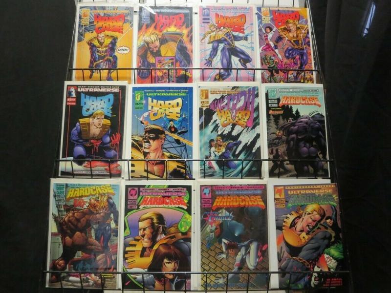 HARDCASE (1993 MA/UL) 1-26  the COMPLETE series!